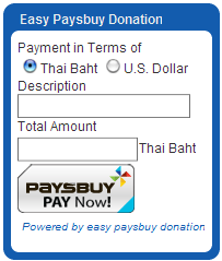 Extensions of the month! Easy Paysbuy Donation v1.0
